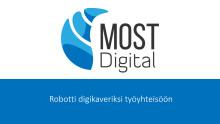 Robotit ja tekoäly tärkeässä roolissa tulevaisuuden henkilöstöpalveluissa - VMP Group ja Most Digital solmivat strategisen kumppanuussopimuksen