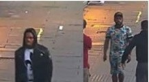 Appeal to identify men in unprovoked double stabbing in Haringey