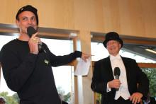 Petter och Erik Fichtelius invigde Kunskapshuset