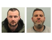 Duo caught with drugs worth £1 million sentenced to more than 20 years