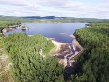 Norconsult förbättrar livsmiljön för öring i Acksjön