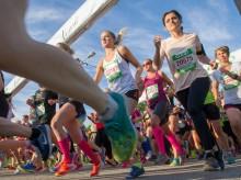 16 500 tjejer deltar i Vårruset Stockholm idag och i morgon