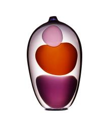 Gunnel Sahlin, glasformgivare,  deltar i London Craft Week  3-7 maj på Vessel gallery i Notting Hill