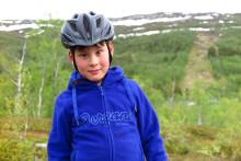 Nå er Hans (7år) endelig syklist!