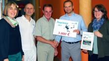 MediClin erspielt beim Mitarbeiter-Fußballturnier 3.000 Euro für Selbsthilfegruppe Aphasie und Schlaganfall Tabarz-Waltershausen-Gotha