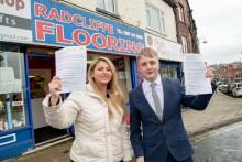 Deadline for flagship Radcliffe shop-fronts scheme approaches