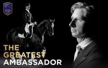 Dressyrstjärnan Patrik Kittel utsedd till officiell ambassadör för Gothenburg Horse Show 2016