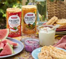 Fiberrika, krispiga och goda – nu lanserar Friggs kikärtskakor i två nya spännande smaker!