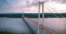 Svevia utför underhåll på Högakustenbron och Sundsvallsbron