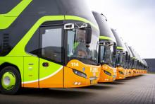 FlixBus sätter in 15 000 extraplatser på bussresor under julledigheten