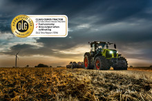 Increasing efficiency with CEMOS for Tractors now DLG-approved