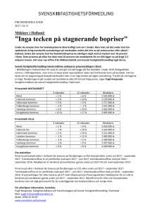 """Mäklare i Halland: """"Inga tecken på stagnerande bopriser"""""""