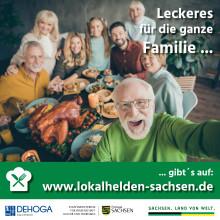 """Lokalhelden Sachsen retten Weihnachten – """"Gans to Go"""" bestellen auf Knopfdruck"""