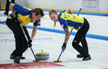Curling VM Mixed 2017: Övertygande svensk seger i premiärmatchen mot Vitryssland