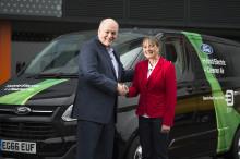 Ford-sjef Jim Hackett åpnet nytt Smart Mobility innovasjonssenter i London