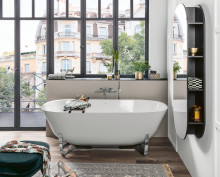 Relaxation for any layout: A well-designed bath