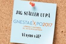 Utflyktsvägen ställer också ut på Gnesta Expo, lördag 7/10, Kl.10 - 14.00. Gratis Entré!