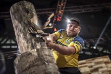 Calle Svadling missade Timbersportsfinalen  med minsta möjliga marginal