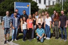 Auf der Startbahn ins Berufsleben: Schmetterling begrüßt 16 neue Auszubildende in Geschwand