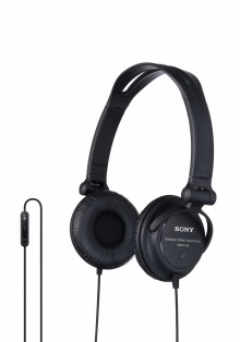 New 'made for iPod/iPhone' headsets from Sony with in-line remote control and built-in microphone