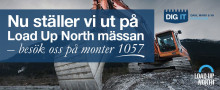 Dahl ställer ut på Load Up North i Boden
