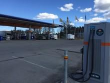 Ny snabbladdare till elbilar i Eskilstuna