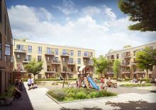 Arkitektgruppen sælger udviklingsprojekt med 64 lejligheder i attraktivt udviklingsområde i Høje Taastrup til Koncenton
