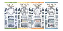 Brittiska craftchokladpionjärerna Rococo lanserar en ny serie Single Origin-choklader i Sverige