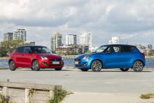 Facelift opgraderer Suzuki Swift på sikkerhedsudstyr