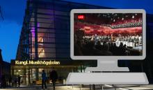 Kungl. Musikhögskolans konserter direkt i publikens vardagsrum