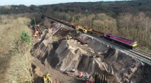 Network Rail on track to reopen East Grinstead line for Monday – but please do check before you travel and only travel if you have to