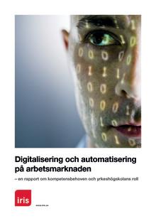 Iris bjuder in till Webinarium: Digitalisering och automatisering på arbetsmarknaden - kompetensbehoven och yrkeshögskolans roll