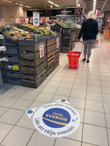 Märket Från Sverige i rikstäckande butikskampanj