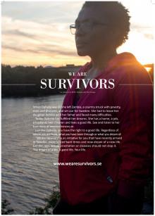 We are Survivors – ett nytänk inom svensk hivprevention riktad till nyanlända migranter.