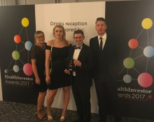 Finegreen at the Health Investor Awards 2017!