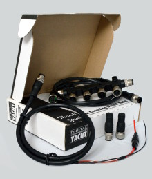 Digital Yacht introduce NMEA 2000 cabling kit for easy marine electronic's interfacing