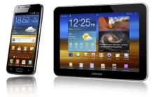 Samsungs 4g-mobil och surfplatta med lte till Norden