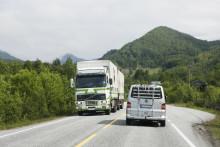 Mange opplever trøbbel med vogntog