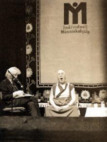 Dalai Lama, Johan Wester och Mark Levengood