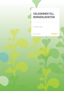 Välkommen till borgerligheten - en essä av PJ Anders Linder