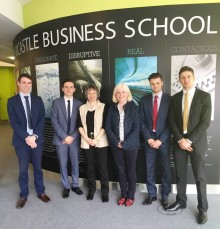 Business students help top North East charity diversify to thrive