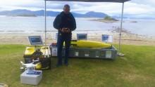 Akvaplan-niva presenterer droner for Marine Recycling Cluster
