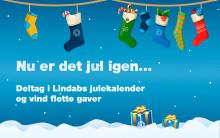 Vind flotte gaver i Lindabs julekalender