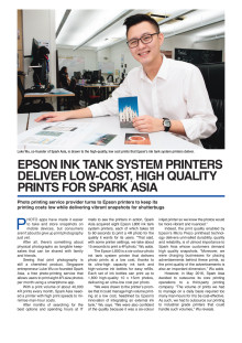 Epson Ink Tank System Printers deliver low-cost, high quality prints for Spark Asia