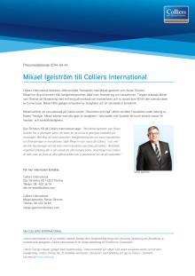 Mikael Igelström till Colliers International
