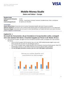 Mobile-Money-Studie Daten und Fakten – Europa
