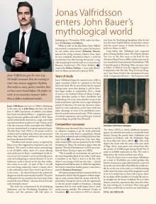 Jonas Valfridsson enters John Bauer's mythological world