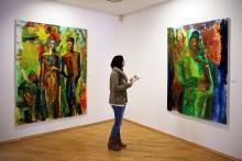 """Ausstellung """"dicht dran"""" von Britta Schulze noch bis zum 30. Oktober 2016 im Galerie Hotel Leipziger Hof zu sehen"""