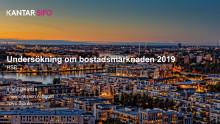 Sifoundersökning om bostadspolitik 2019