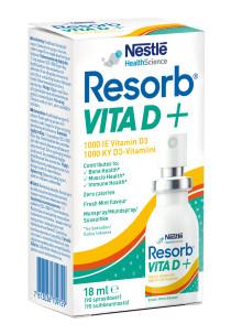 Resorb VitaD+ munspray med D-vitamin
